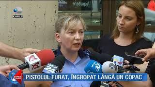 Stirile Kanal D (21.08.2018) - Pistolul furat, ingropat langa un copac! Editie COMPLETA