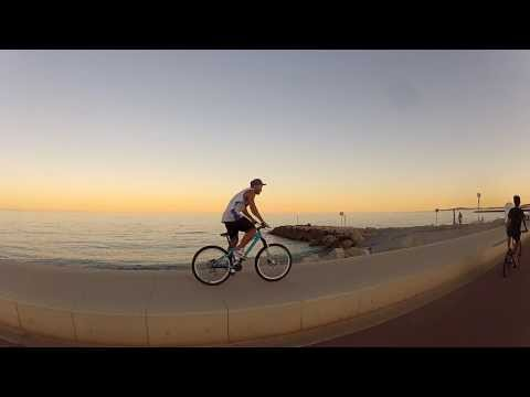 The French Riviera (Nice/Cannes) - GoPro 1080HD - Biking, Rollerblading and Running