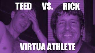 Teed vs Rick In Virtua Athlete 2000