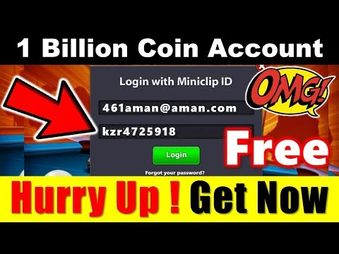 Free 1 Billion Coin Account | ( Giveaway Ended )