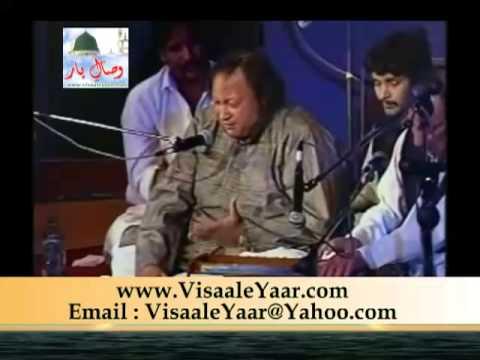 PUNJABI NAAT( Sarey Nabiyan Da Nabi)NUSRAT FATEH ALI KHAN.BY Visaal