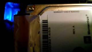 Verbatim hard drive beeping , not spinning problem