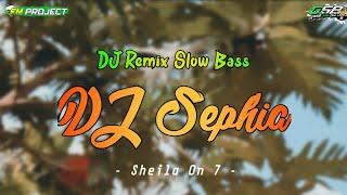 Dj Sephia Selamat Tidur Kekasih Gelapku Sheila On 7 Slow Bass By Fm Project