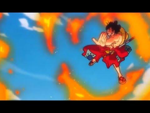 One Piece - LUFFY RED HAWK! WANO