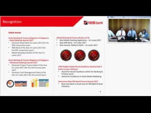 NDB Investor Webinar Q3 -2017