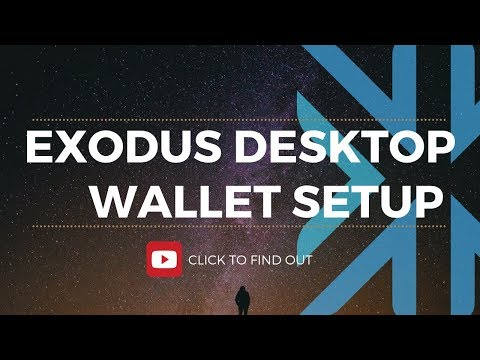 HOW TO INSTALL EXODUS - ALTCOIN WALLET