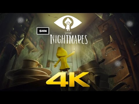 Little Nightmares | 4K 60fps | Longplay Walkthrough Gameplay No Commentary
