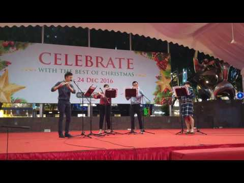 Hark! The Herald Angels Sing - Christmas Flute Performance in Singapore