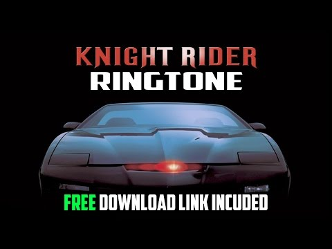 Knight Rider Ringtone - Free Download Link Included