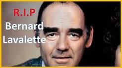 Mrt de l'acteur, chansonnier et humoriste Bernard Lavalette