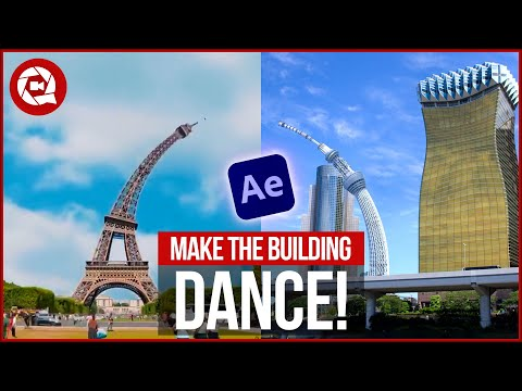 We Created DANCING BUILDINGS with AFTER EFFECTS (A$AP Rocky)