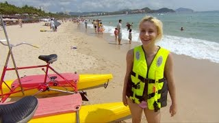 Billie hits the beach - Secrets of China: episode 3 preview - BBC Three