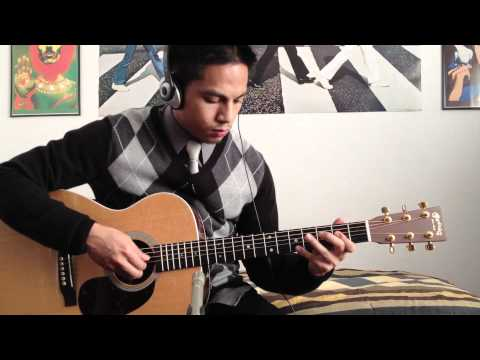 Plain White Ts - Hey There Delilah acoustic guitar cover + lyrics