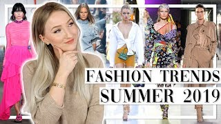 SPRING/SUMMER FASHION TRENDS 2019 - Die 11 tragbarsten Trends der Saison! TheBeauty2go