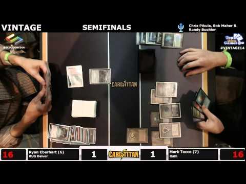 Vintage Champs Semifinals Ryan Eberhart (RUG Delver) vs Mark Tacco (Oath)