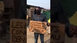 Les Étudiants Congolais au Bénin meurent de faim. Sassou-Nguesso reste inflexible.