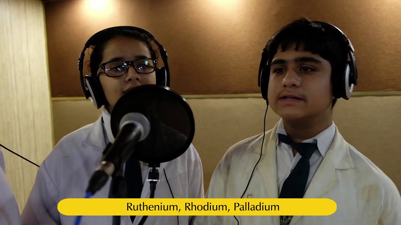Class viii students of dps faridabad sing the periodic table youtube class viii students of dps faridabad sing the periodic table urtaz Images
