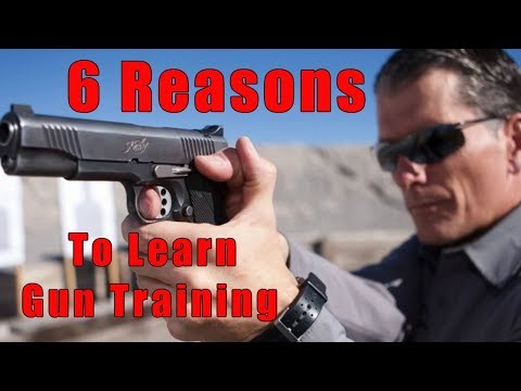 6 Reasons to Learn Gun Training-6 Reasons To Get Handgun Training-6 Tips Why Online Handgun Training