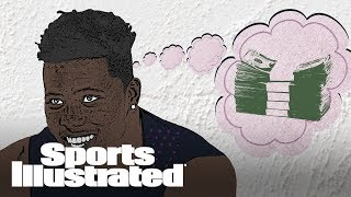 Saquon Barkley Makes A Dash For Cash In A Bet With Father | Sports Animated | Sports Illustrated