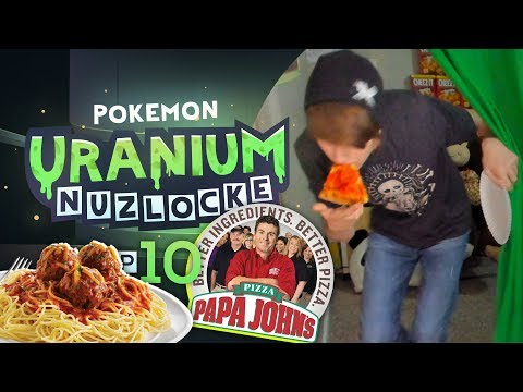 PIZZA BREAK!! - Pokemon Uranium Nuzlocke w/ Astroid! EP 10!