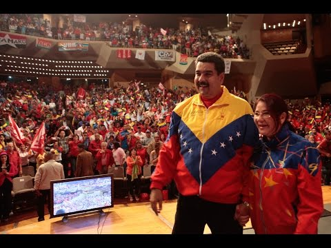 Maduro se reúne con candidatos del Gran Polo Patriótico (GPP) y anuncia candidaturas por listas