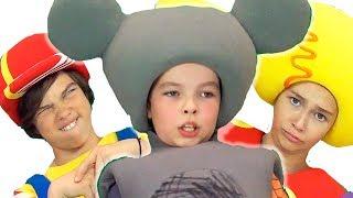 Кукутики блог - Что происходит на съёмках шоу для детей за кадром - Смешные моменты и вся правда