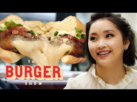 Lana Condor Tastes the Best Veggie Burgers | The Burger Show