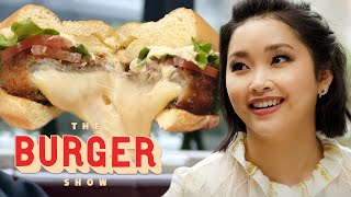 Lana Condor Tastes the Best Veggie Burgers | The Burger Show