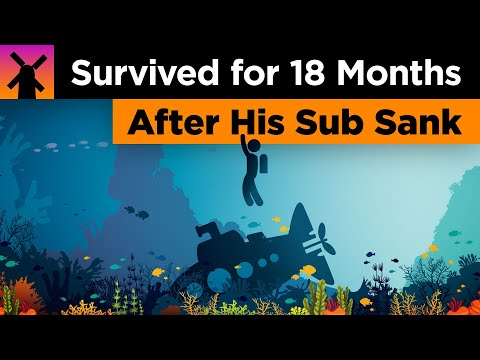 The Man Who Survived for 18 Months On an Island After His Submarine Sank