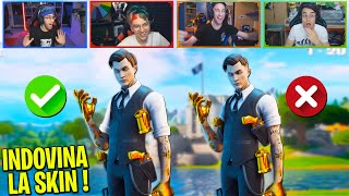 INDOVINA LA SKIN CORRETTA su FORTNITE (100% IMPOSSIBILE) w/@Crazie Mad @Tuberanza ✌ @Ezektoor