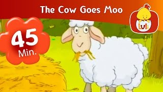 The Cow Goes Moo | Cartoon for Children - Luli TV