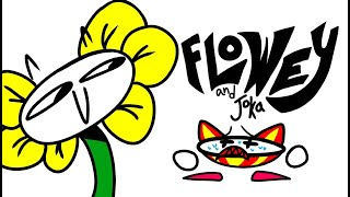 Flowey and Joka flexing to the music of \