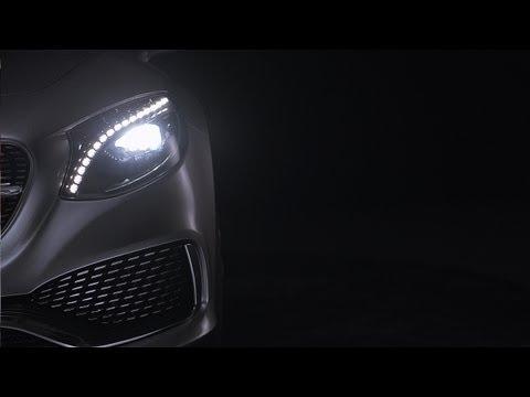 the headlight design of the concept s class coupe mercedes benz original youtube the headlight design of the concept s class coupe mercedes benz original