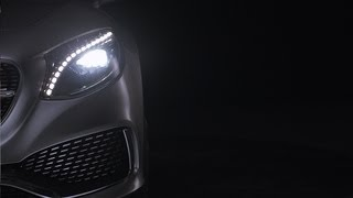 Mercedes-Benz TV: The Headlight Design of the Concept S-Class Coupé.