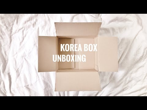 📦 unboxing korea box