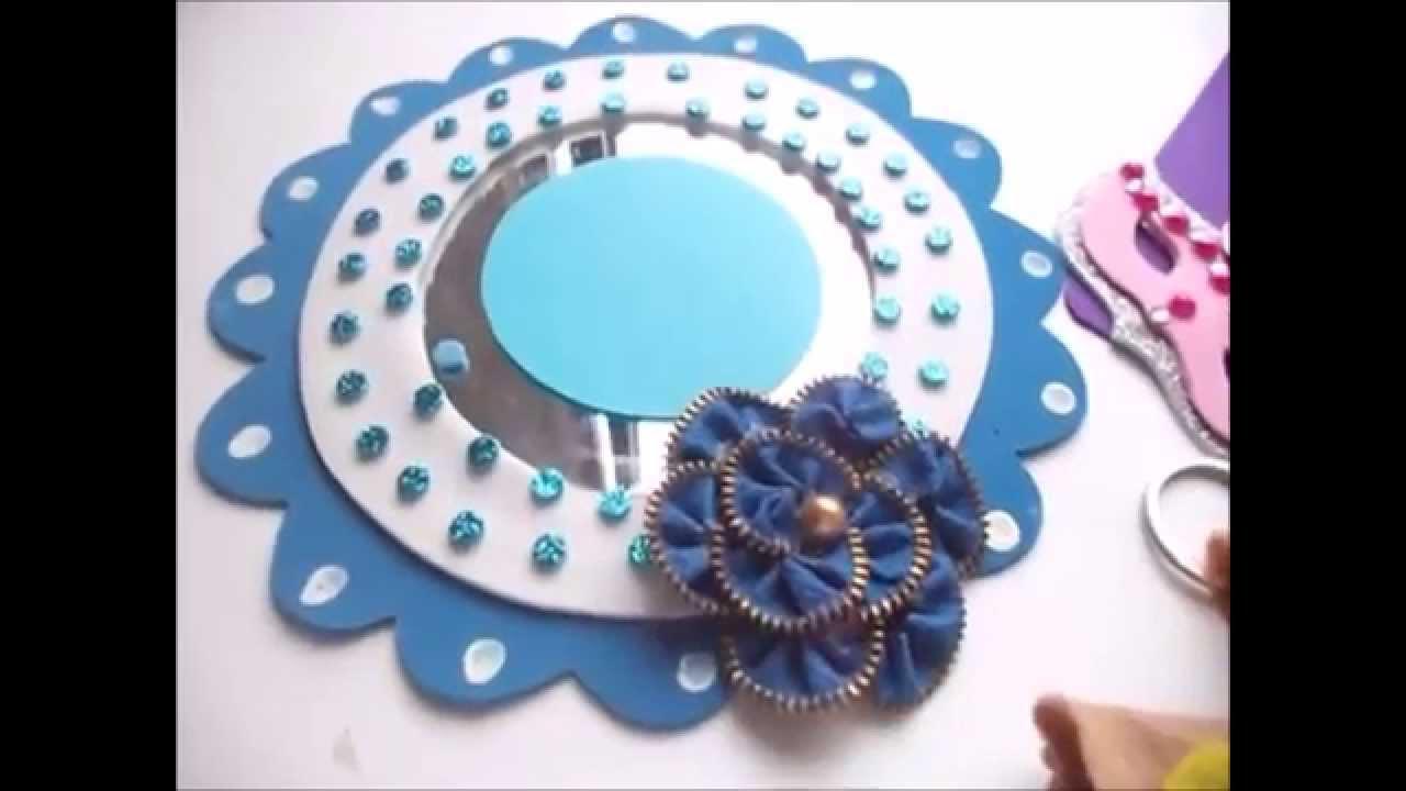 Regalos para el d a de la mam mouse pad espejo y bolsa for Pared con espejos redondos
