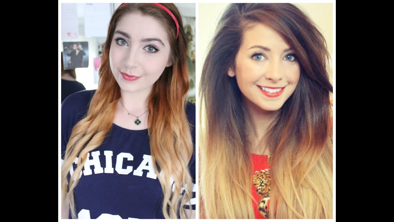 Zoella Inspired Ombre Hair Tutorial