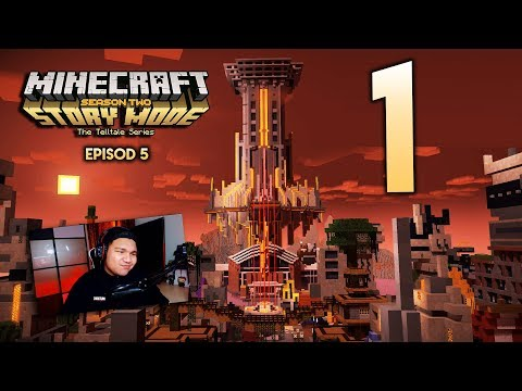 THE END IS NEAR : Minecraft Story Mode Season 2 | Episode 5 ''Part 1''