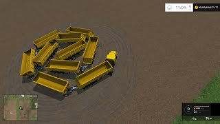 Farm Sim Saturday filling the trailer train to 1 million tons...Part 1