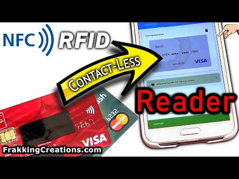Steal RFID Credit Debit ATM Card Data With App. Hack Proof?  RFID/NFC Safety Travel Tip!