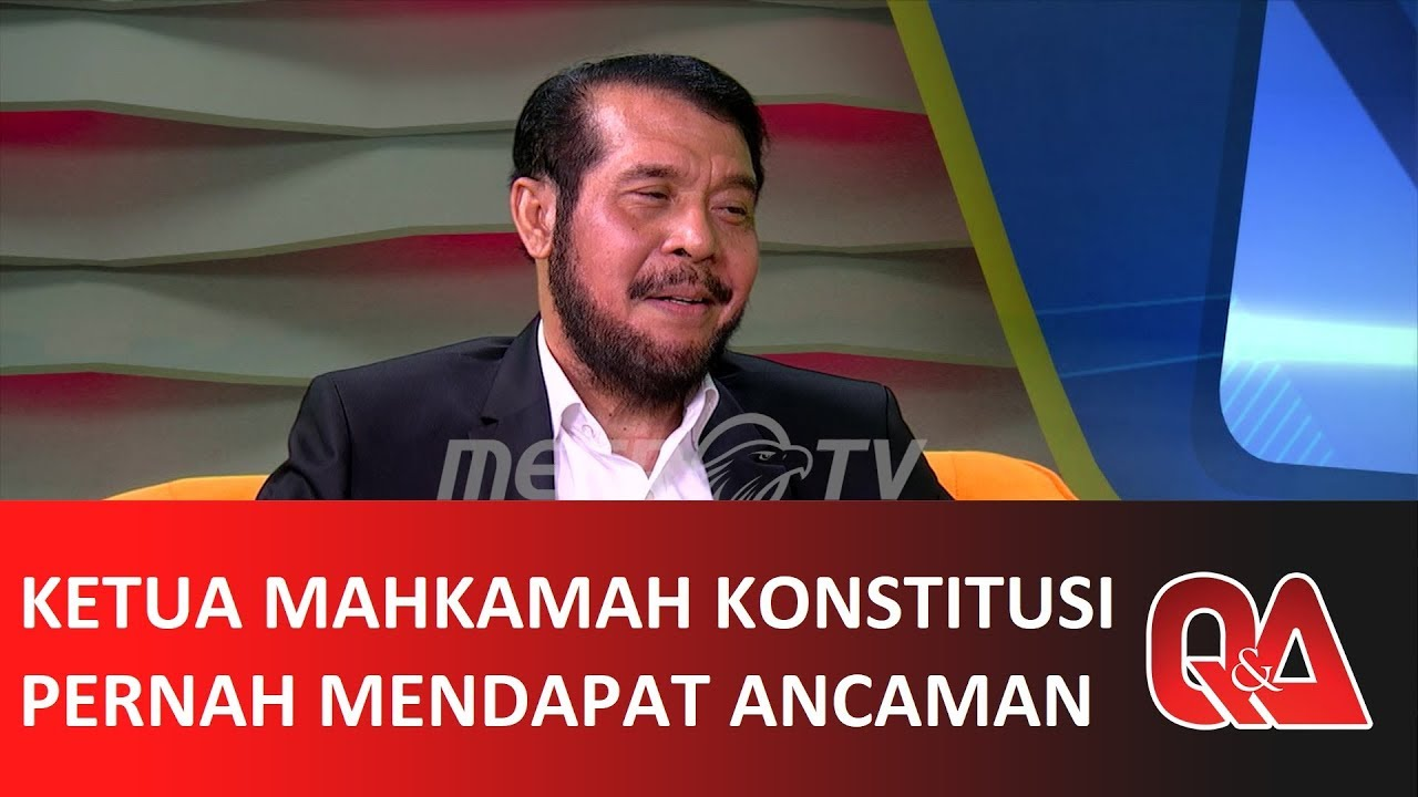 Q&A: KETUA MK ANWAR USMAN PERNAH MENDAPAT ANCAMAN (4/4)
