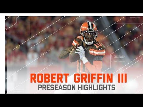 RGIII Highlights | Browns vs. Buccaneers  | NFL