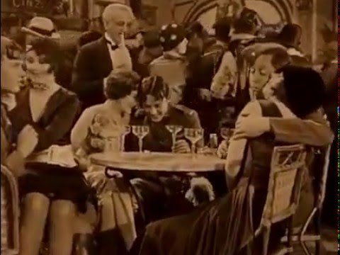 Wings (Les Ailes) 1927, Café de Paris scene