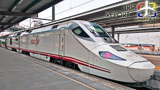 TRAIN TRIP REPORT | Renfe Alvia Galicia | Santiago - Madrid
