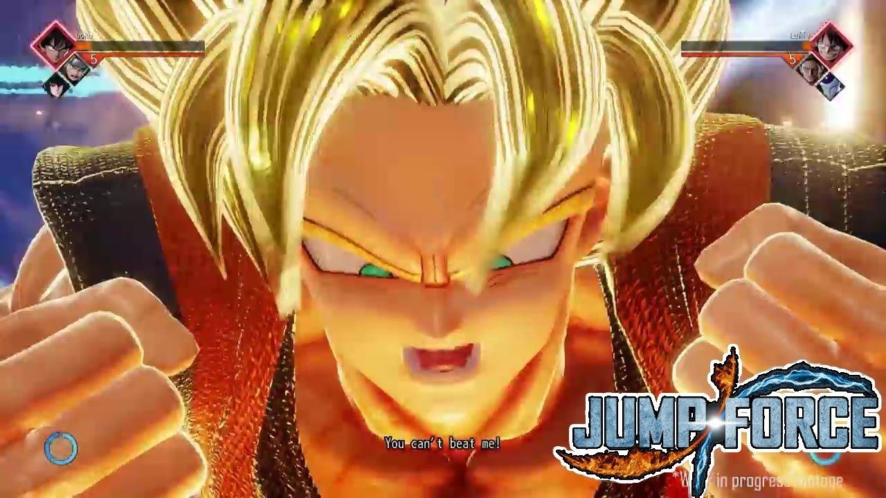 Goku Ssj Wallpaper Hd Jump Force Ssj Goku Gameplay Youtube