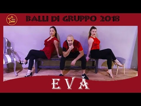 EVA (Mina-Celentano) |cha cha cha| Balli Di Gruppo 2018 | Andrea Stella Choreo Dance