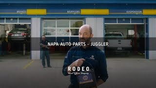 Napa Auto Parts Ad - Juggler | Rodeo FX