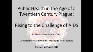 John Ashton   President's Guest Lecture 26 04 18 Full Video
