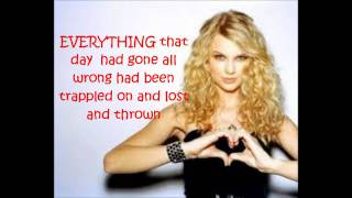 our song taylor swift lyrics