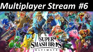Kratos Streams Super Smash Bros Ultimate Multiplayer Part 6: Beaten at Long Last!
